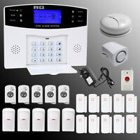 GSM Wireless Wired Voice Home Alarm Security System LCD Auto Dialer YA-500-GSM N