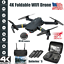 thumbnail 1 - Drone-X-Pro-WIFI-FPV-4K-HD-Camera-3-Battery-Foldable-Selfie-RC-Quadcopter-Drone