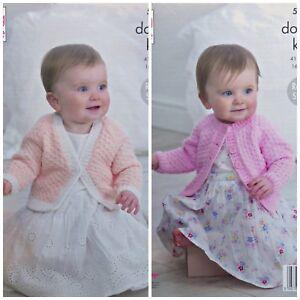 King Cole Babies Knitting Pattern 5438 in DK