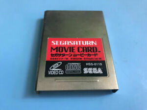 Sega-Saturn-Video-CD-Card-HSS-0119-VCD-MPEG-Movie-Adapter-Player-Operator-boxed