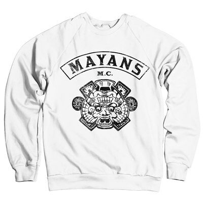 Officially Licensed Mayans M.C Backpatch Hoodie S-XXL Sizes