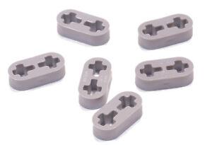 6 x Liftarm dünn 1x2 hellgrau LEGO Technik 41677 NEUWARE
