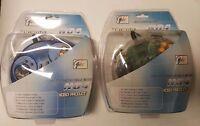 6 Lot Clear Blue + 6 Transparent Clear Controller Joypads Nintendo 64 N64