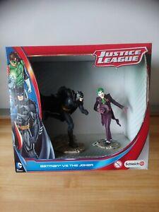 Coffret 2 figurines Batman et Jocker Schleich DC Comics Justice League neuf