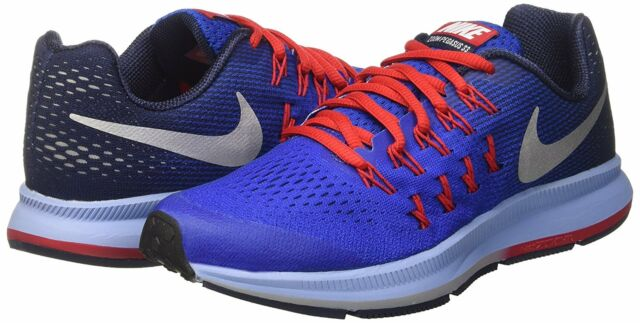 wholesale dealer c5d24 55182 Nike Zoom Pegasus 33 Mens/Big Kids Blue Running Shoes Size 6