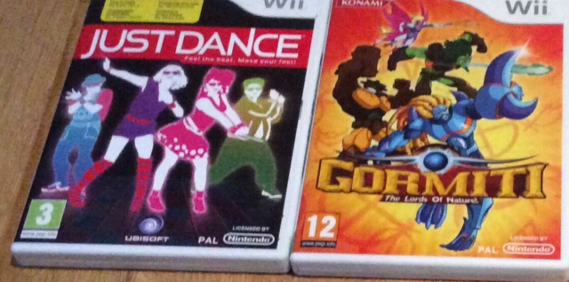 Just Dance, Gormiti, Nintendo Wii, 2 spil til Wii - Just…