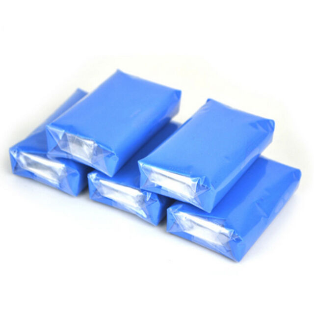 1SET/5*Magic Clay Bar Car Auto Cleaning Remove Detailing Wash Cleaner Blue 100g