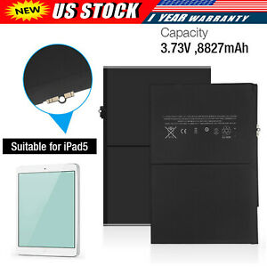 Replacement Battery For Apple iPad Air 1st Gen 8827mAh A1474 1475 A1484 USA