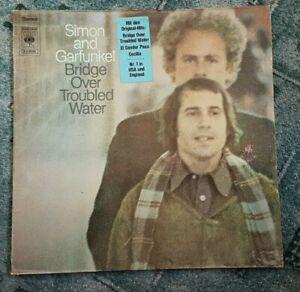 Vinyl LP - Simon and Garfunkel - Bridge Over Troubled Water