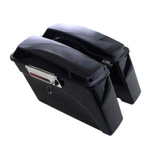 HEAVY DUTY SADDLE BAG BUMPER 1993-2013 FLH//FLT HARD BAGS Harddrive Parts 345552