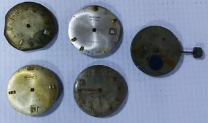 Tissot watch rare moon phase Movements Vintage Diver Swiss special Parts combo 5