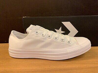 Converse All Star Blanco Monocromo N.42 Nuevos 100% | eBay