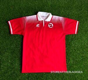 SWITZERLAND NATIONAL TEAM 1996 1998 HOME FOOTBALL SOCCER SHIRT JERSEY TRIKOT 52