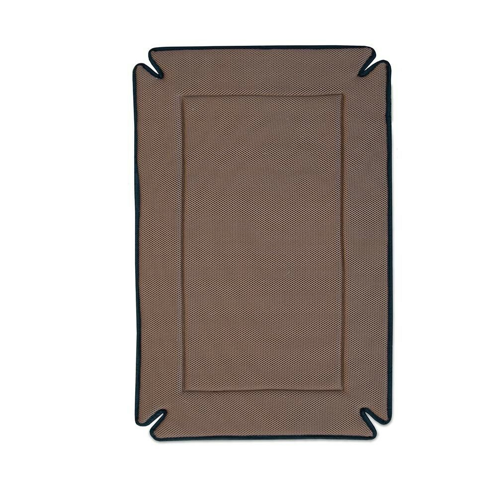 KH Mfg 54  Giant XXL Odor Control Dog Pet Crate Kennel Bed Mat Pad Mocha