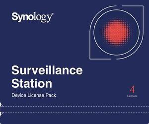 Synology-Kamera-Lizenz-4-fuer-IP-Uberwachungskameras-Camera-Pack-Kameralizenz