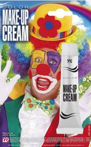 Movie Film Horror Halloween Red Clown Wig White Cream Face Paint Make Up