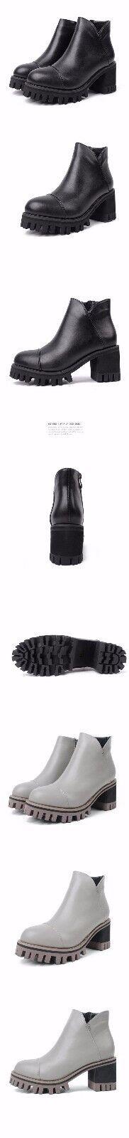 Stivali stivaletti lacci bassi  platform tacco  alto alto alto 7  cm nero simil pelle 9008 7c8add