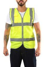 Hi Viz Safety Vest Chaleco De Seguridad Class 2 Yellow Orange