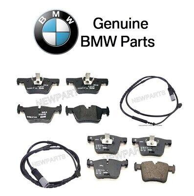 For BMW F30 F31 F32 F33 F34 F36 Rear Brake Pad Set w// Sensor Genuine