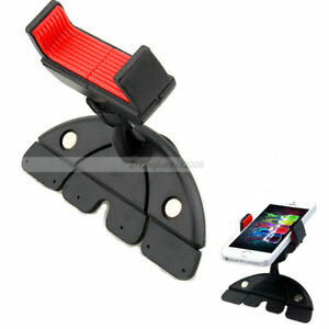 Luxury-ZH259-360-Car-CD-Dash-Slot-Holder-Mount-Stand-For-Cell-Phone-GPS-Samsung