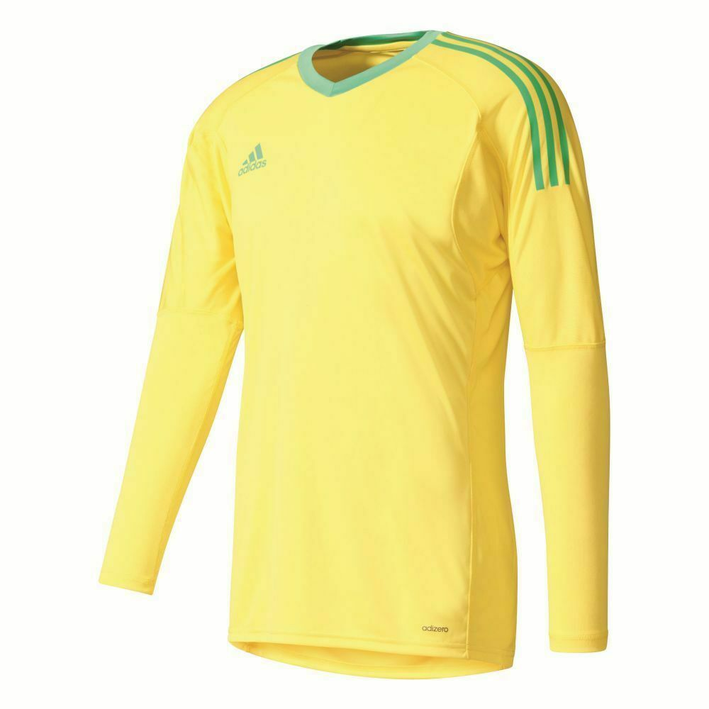 Adidas Footbtutti Soccer uomini Goalkeeper GK Goalie lungo Sleeve Jersey Shirt