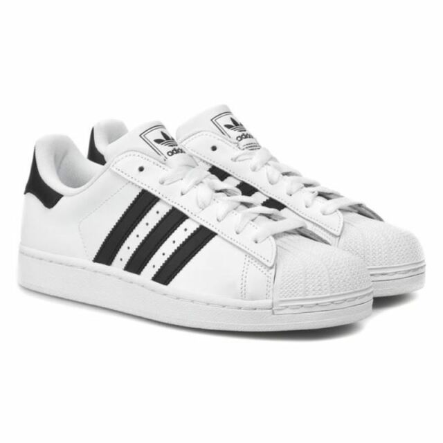new concept fb343 49734 adidas Superstar 2 II Men's Shoes Leather Sneaker G17068 UK 10