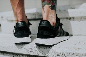 adidas iniki runner core black schwarz ultra boost nmd. Black Bedroom Furniture Sets. Home Design Ideas