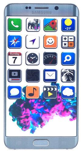 Samsung SM-G928F Galaxy S6 Edge+ Plus Silber 64GB LTE Smartphone (N15459)