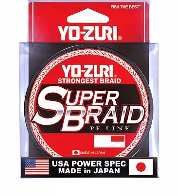 MULTIFIBER SUPER BRAID 0,36 MM YO-ZURI 50 LB DARK GREEN 275 MT LINE