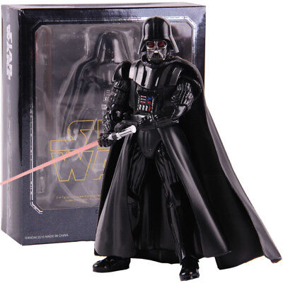 Star Wars Revoltech Darth Vader Stormtrooper PVC Action Figure Model Toy