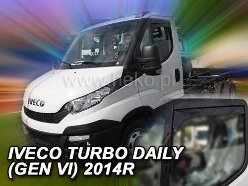 Heko 18109 derivabrisas 2 piezas breves Iveco Turbo daily VI año a partir de 2014