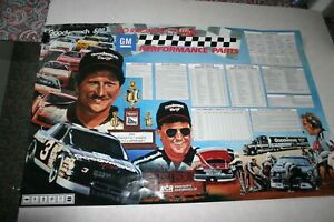 GM-PERFORMANCE-PARTS-DALE-EARNHARDT-SR-RICHARD-CHILDRESS-1992-SCHEDULE-amp-MORE
