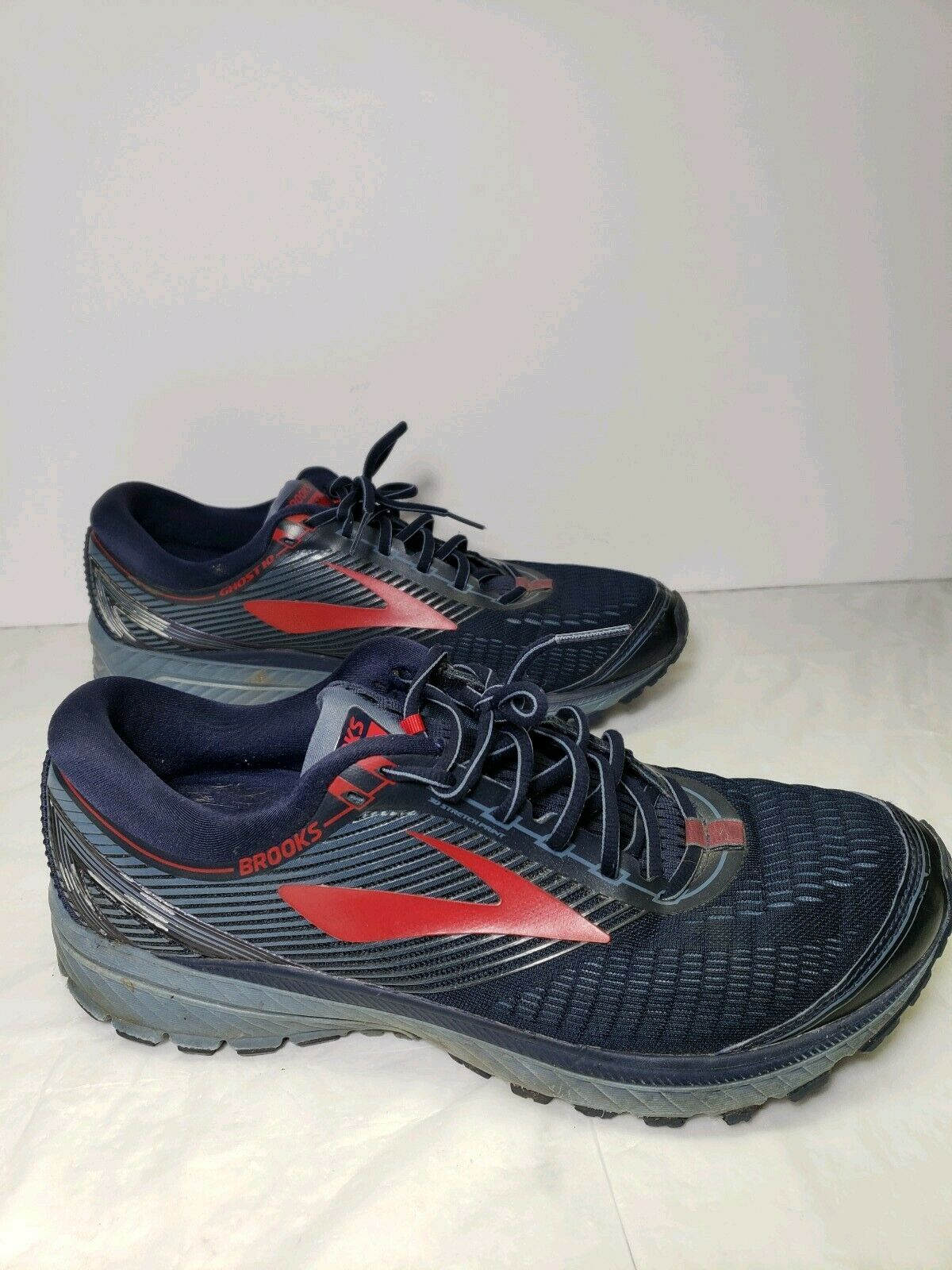 Brooks Ghost 10 Men 65533;s Dimensione 13 Navy   rosso Athletic Road Running scarpe  Felice shopping