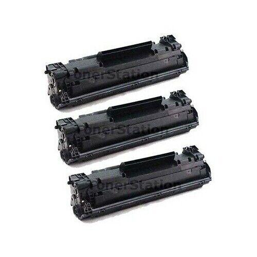 3 TONER Compatible CF283A 83A For HP LaserJet PRO M127 M127fn M201 M255 M125 MFP