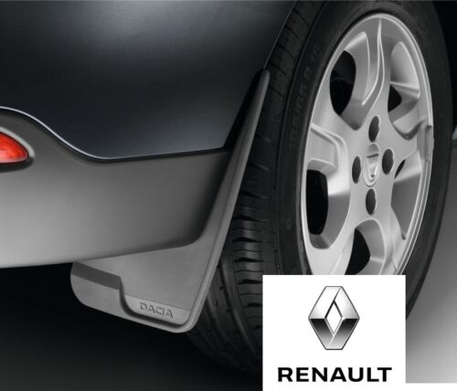 New Genuine Dacia Duster Sandero Front or Rear Mudguards Mudflaps 8201235609