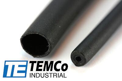 "3 Lot TEMCo 1//4/"" Marine Heat Shrink Tube 3:1 Adhesive Glue Lined 12/"" long BLACK"