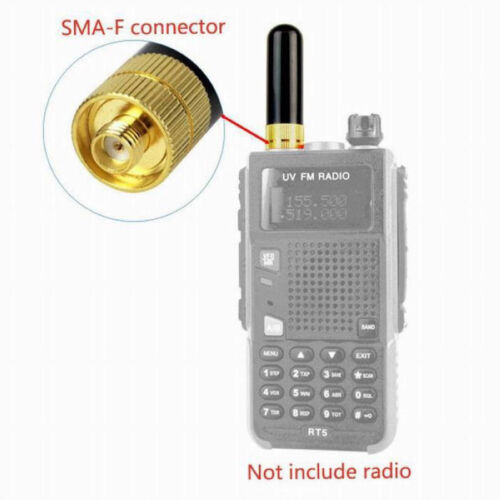 New SRH805S SMA-F Female Dual Band Antenna For Baofeng UV-5R BF-888s Radio