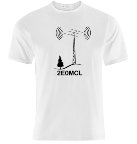 HAM RADIO T SHIRT PERSONALISED WITH YOUR CALL SIGN .......MALE UNISEX