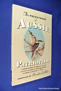 THE-POCKETBOOK-OF-AUSSIE-PATRIOTISM-Brendan-Gullifer-BOOK-Australian-History