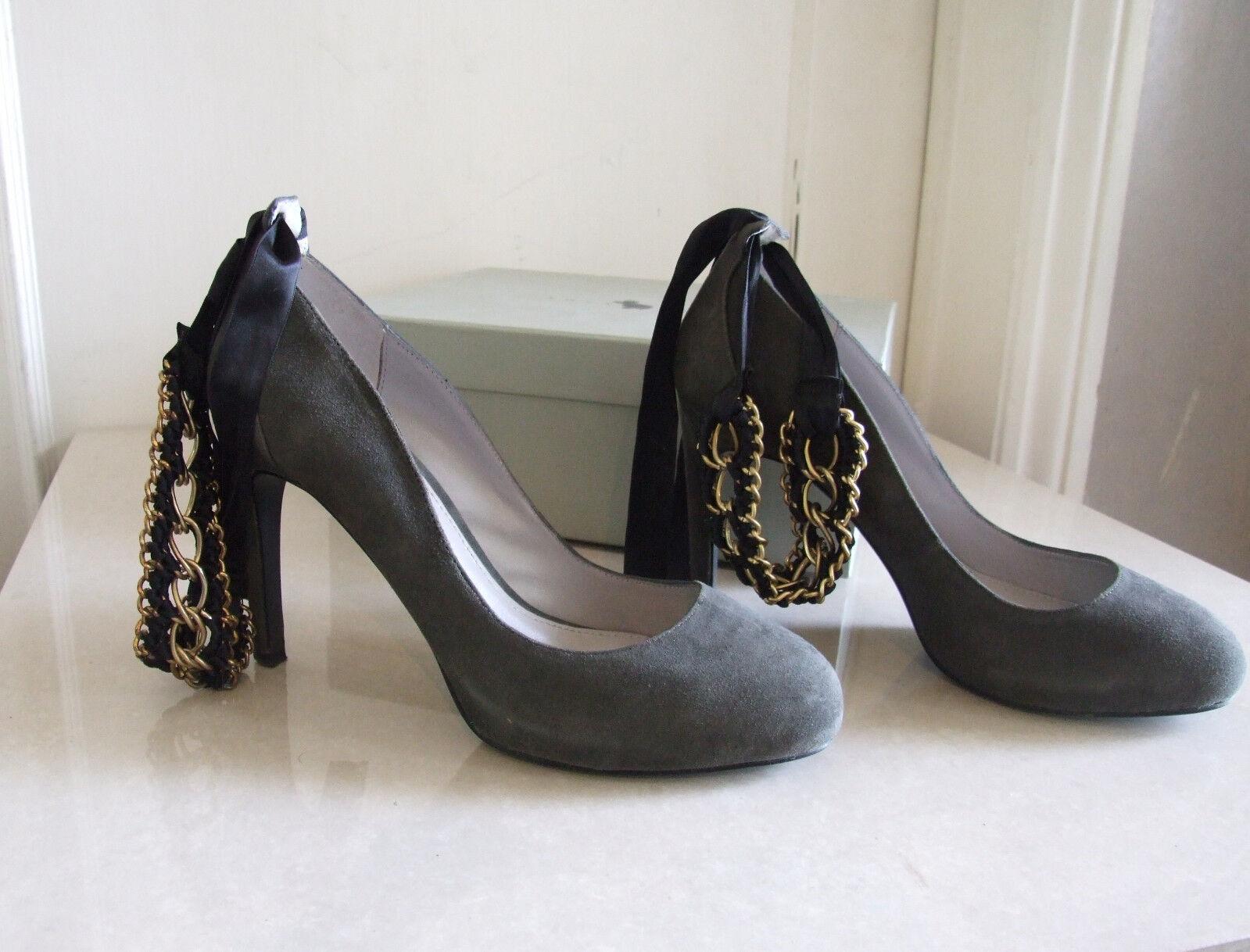 Lola CRUZ squisita Scarpe Partito Tacco A Stiletto Scarpe squisita Da Sera Eve Catena D'oro EU 39 5cc36f