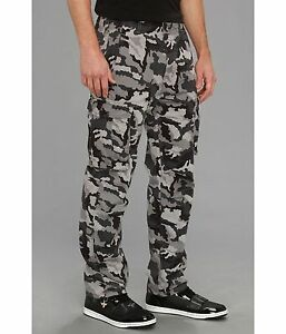 NWT-Men-039-s-Levi-039-s-ACE-Cargo-Casual-Pants-124620019-Choose-Size-Combat-Camo-Blk