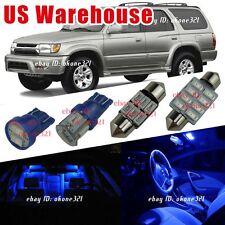 14-pc Deep Blue LED Interior Light Package Kit For 1996-2002 Toyota 4Runner