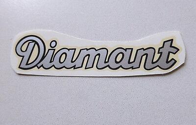 Diamante Scritta Decalcomania Ad Acqua 78930d 102x23 Mm Argento/bordo Nero