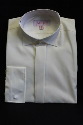 IVORY VICTORIAN WING COLLAR SHIRTS