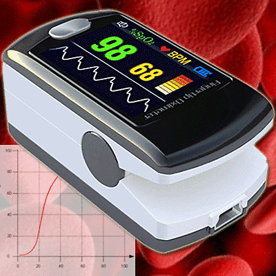 OXYMETRE SATUROMETRE POULS METRE ECG OXYMETER POULS FINGER PULSE AMBULANCE   OM3
