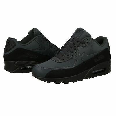 Nike Air Max 90 Essential Herren Klassisch Retro Turnschuhe Sneakers Schwarz | eBay