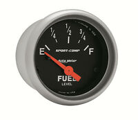 Autometer Sport-comp Electric Universal Gm Chevy Fuel Level Gauge 2-1/16 (52mm)