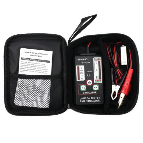 Automotive Oxygen Sensor Tester Simulator Zirconia Titania Portable Lambda Meter
