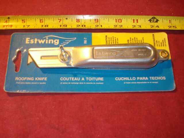 0130 Roofing Knife Estwing Rk 7 W 2 Blades Ebay