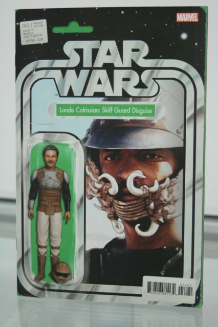 MARVEL COMICS STAR WARS #52 ACTION FIGURE Lando Calrissian VARIANT COVER